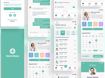 Doctor Appointment app design layout graphic design application medical health app doctor appointment doctor app psd template mobile app design user experience user interface design ui  ux application design app design app