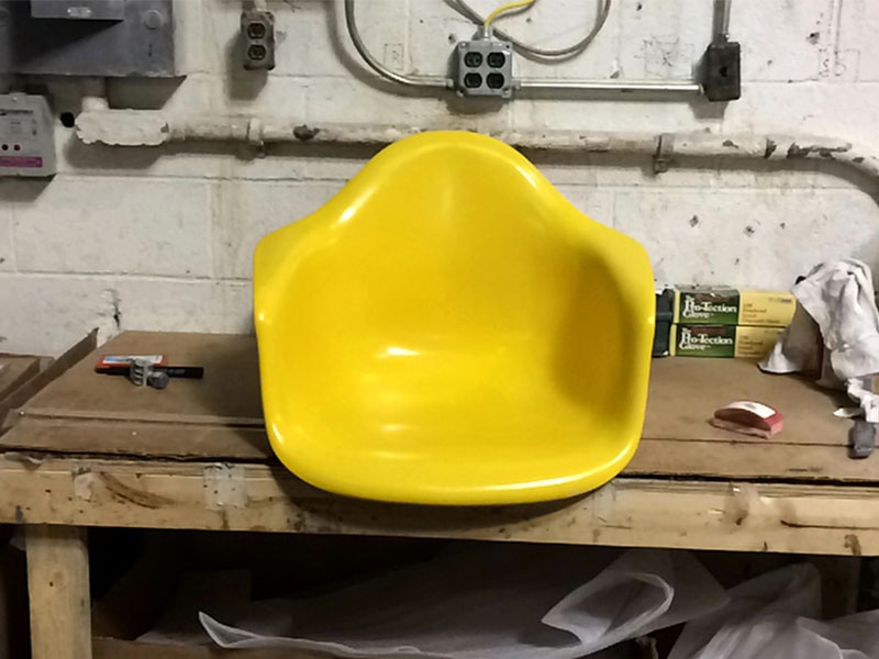 Shell Shorts herman miller furniture eames design shell shorts shell chair history work making of craft
