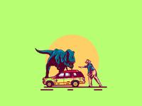 Jurassic Park drawings logo illustrator vectorart jurassicpark jurassicworld