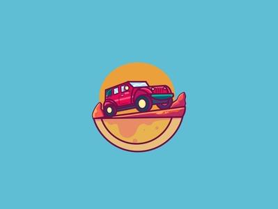 Wild Road illustrator illustration design logo digital art