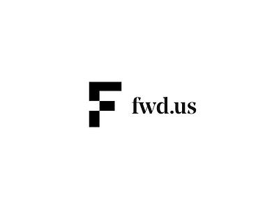 FWD.us Logo Reveal Animation blocks non-profit branding principle animation logo