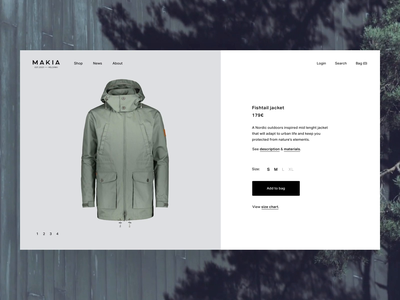 Product Page Zoom Interaction principle animation ecommerce product product page zoom zoom interaction