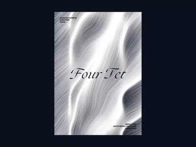 Animated Poster - Four Tet animated poster interactive poster poster four tet