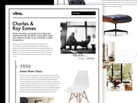Vitra Eames timeline