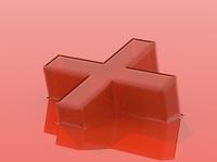 Translucent plastic exploration illustration icon typography design branding redshift 3d cinema4d cinema 4d