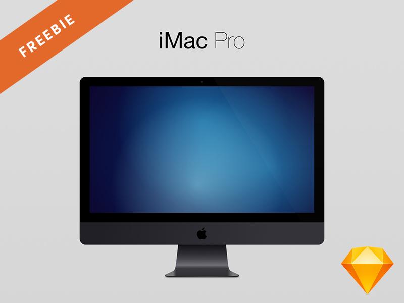 Sketch Freebie | iMac Pro