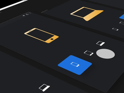 Animated Combined Shapes | InVision Studio icons apple video prototype sketch animated studio invision vector gif free animation ui freebie download invision studio