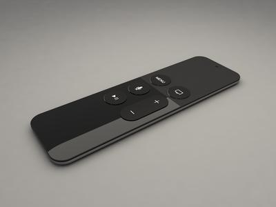 Apple TV Remote | Cinema 4D
