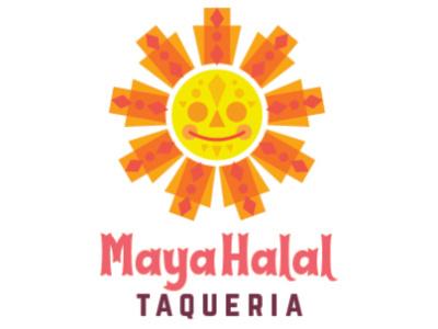 Maya Halal Taqueria (Rejected Design) branding graphicdesign restaurant logo design logo digital graphic food art design vector illustration