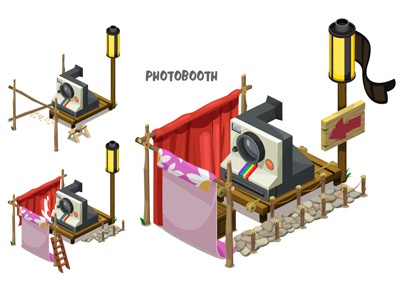 Disney's Gnometown: Photobooth