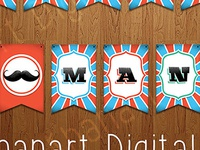 Instant Download Digital Baby Shower Banner