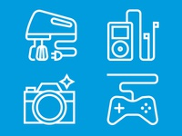 Interests Icons