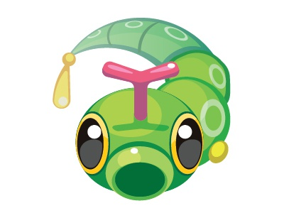 Daily vector 010 caterpie