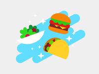 Eat24 Order History Illustration