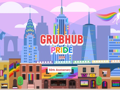 Grubhub & Seamless Pride - for Pride Month 2019