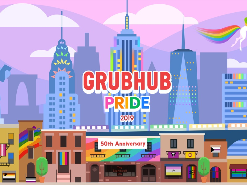 Grubhub & Seamless Pride - for Pride Month 2019