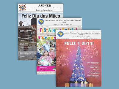 Revista ASDNER graphic design magazine design magazine revista editorial design editorial