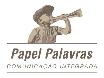 Papel Palavras graphic design logodesign logo