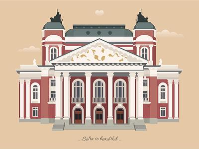 Sofia city National Theatre