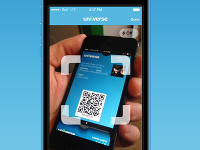 Scanning a QR code with Ticket Manager by craig follett for
