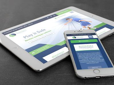 Ortho Web Design website overlap web design orthopedic