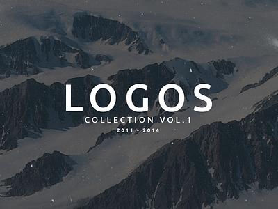 Logos Collection Vol.1 graphic design art direction identity brand identity logo design typography branding