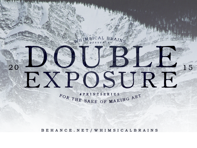 Double Exposure photo manipulation double exposure graphic design digital art photography whimsical brains