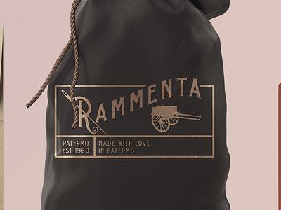 Rammenta logo art branding graphic design whimsical brains adriano clemense rammenta