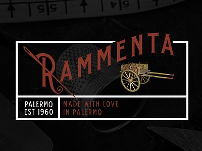 Rammenta logo branding art graphic design whimsical brains adriano clemense rammenta