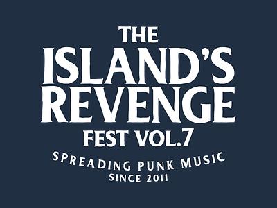 The Island's Revenge Fest  branding logo design graphic design adriano clemense islands revenge fest logo