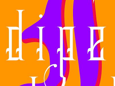 beindipendent typography graphic design digital art design poster