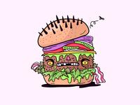 Deadly Burger Icon