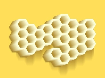 honeycomb 23445 vector illustration design