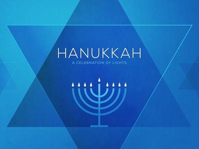 """Hanukkah"" Sermon Art"