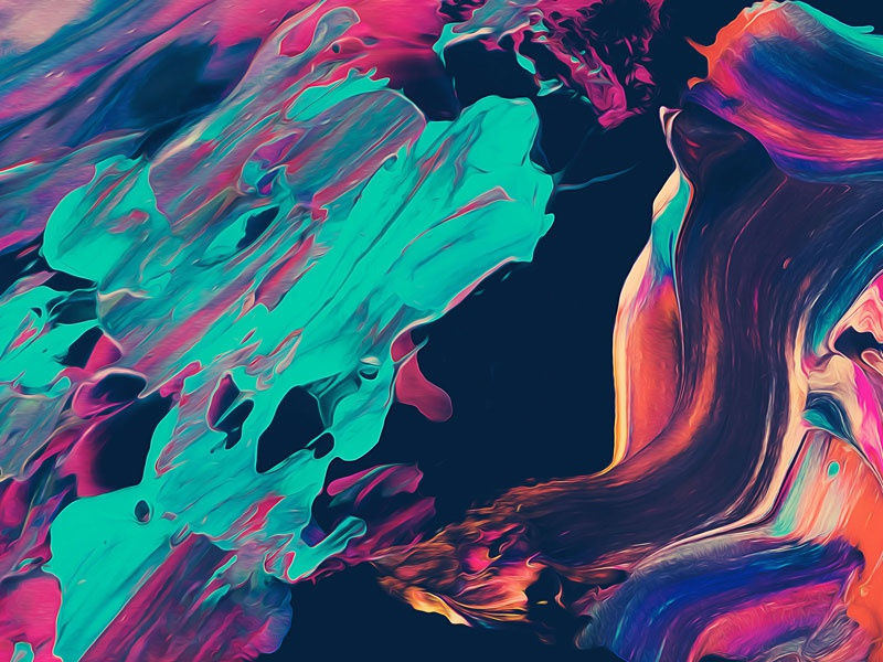 Abstract Paint Remix Vol 3 by Jim LePage Dribbble