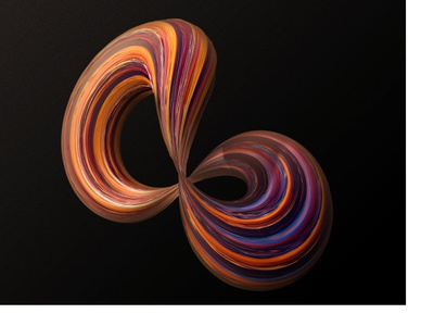 2018-10-12 infinity lighting 3d abstract