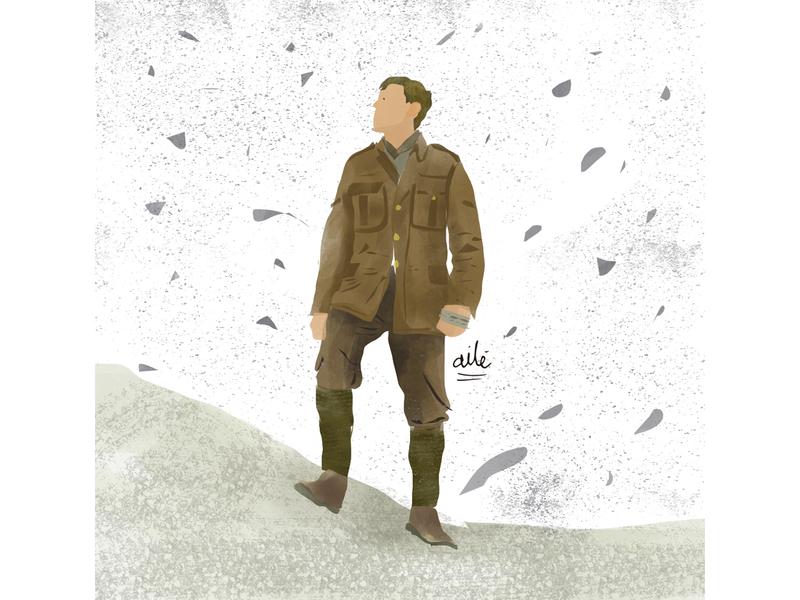 1917 movies the oscars illustrator illustration digital design digital illustration illustration 1917