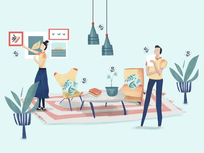 How to start a home staging business home stager interior design home furniture business illustration hourly digital illustration illustration architecture design entrepreneurs home staging business entrepreneurship entrepreneur business