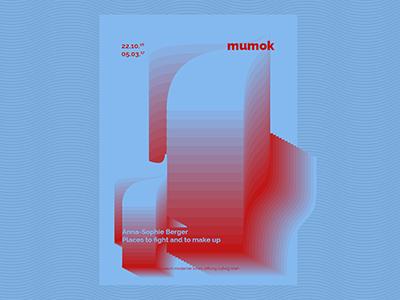 mumok  ●  Poster series  typography illustration graphicdesign