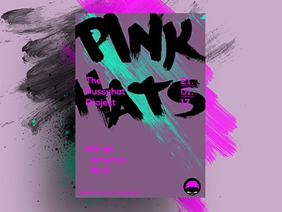 Pink Hats poster