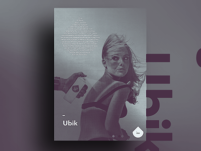 ˘ Ubik typography illustration graphicdesign