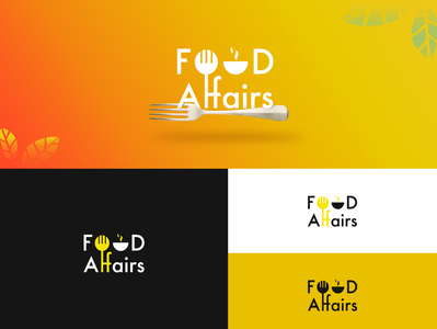 Food Affairs logo design