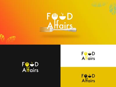 Food Affairs logo design