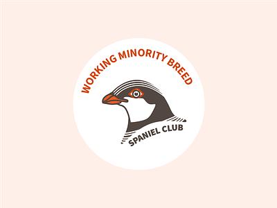 Working Minority Breed Spaniel Club logo club spaniel bird