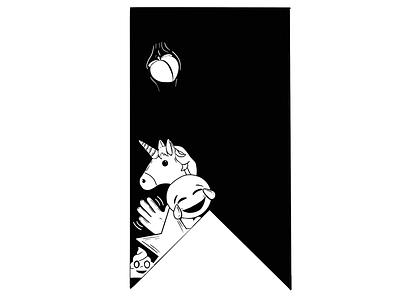 Emoji Bookmark unicorn bookmark emoji