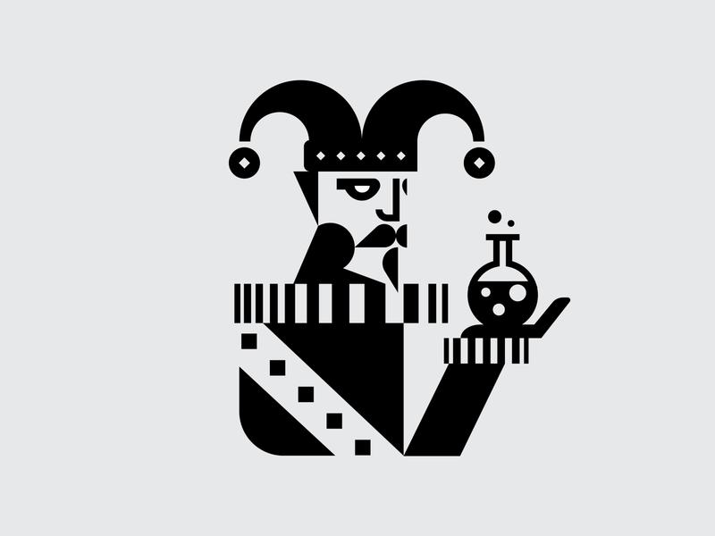 Fate of the Fool Logo icon logo design branding