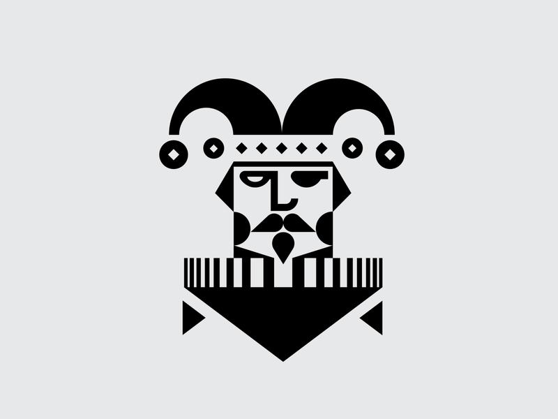 Fate of the Fool Logo illustration icon logo design branding