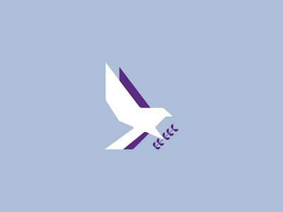 Bird of Peace branding icon logo design logo