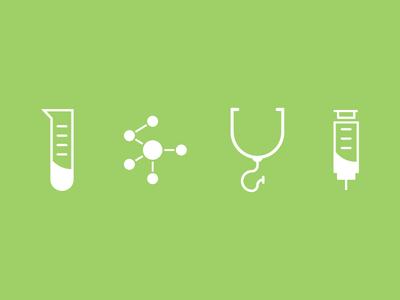 Molecules icons