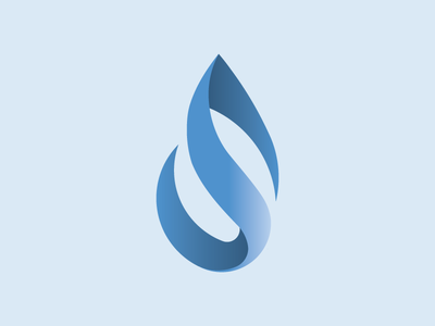 Possible Logo Mark logo water droplet